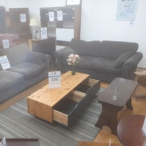 2 x 3 seater sofas_West Bromwich