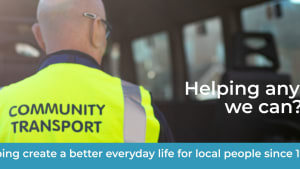 Community Transport – helping any way we can.