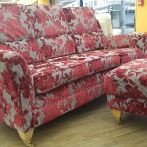DFS modern Sofa with Footstool