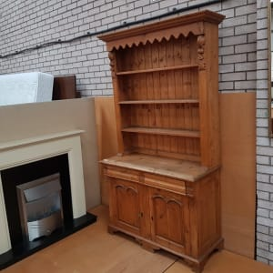 Large Pine Welsh Dresser - CT Bilston