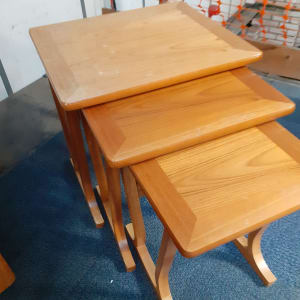 Retro Teak nest of tables - Bilston