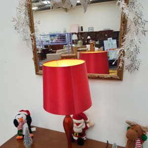 Red Table Lamp - Bilston