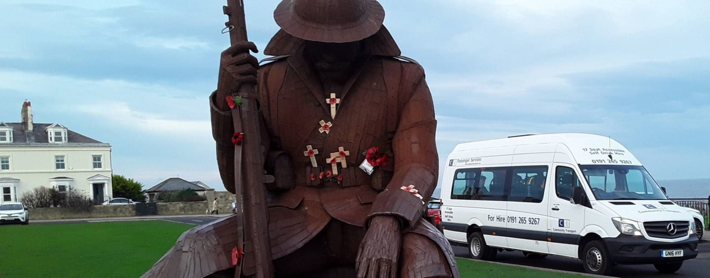 Visit to Seaham Harbour