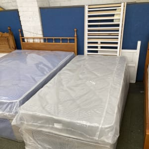 Brand new single divan bed sets