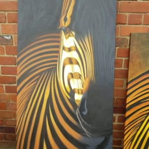 Large Zebra print Canvas