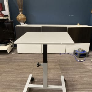 Height adjustable Small office Table
