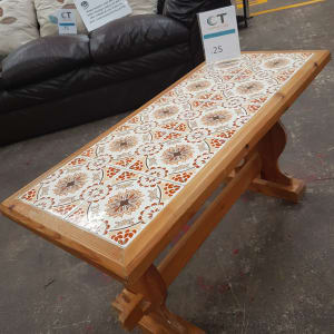 Tiled Coffee Table - Bilston