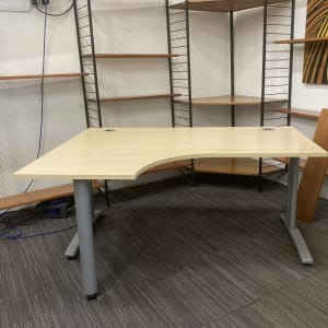Curved Office Desks, in Excellent Condition