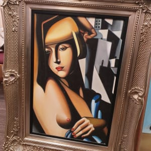 Suzy Soldier by Tamara De Lempicka ( Reproduction Oil Painting)